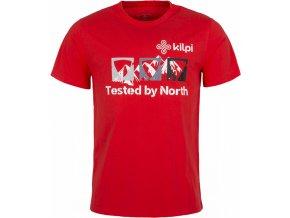 Pánské tričko KILPI MOUNTAINS-M červená