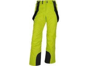 Pánské lyžařské kalhoty KILPI MIMAS-M Světle zelená 18