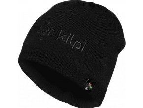 Pánská zimní čepice KILPI CAMO-M Černá