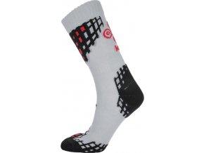 Pánské funkční ponožky KILPI BEATRICE-M Světle šedá