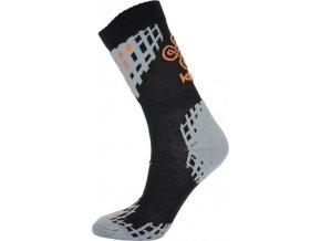 Pánské funkční ponožky KILPI BEATRICE-M Černá
