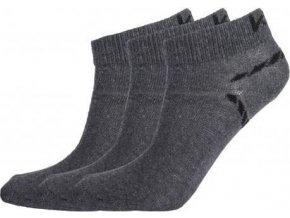 Kotníčkové ponožky KILPI BARTLET Šedá