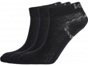 Kotníčkové ponožky KILPI BARTLET  Černá