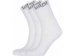 Funkční sportovní ponožky KILPI BENAYA Bílá