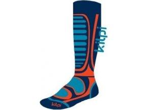 Unisex lyžařské ponožky KILPI ANXO-U  Oranžová