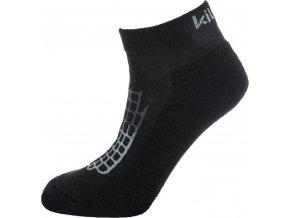 Dámské funkční sportovní ponožky KILPI MIDDLAN-L Černá
