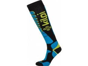 Unisex lyžařské ponožky KILPI TENDER-U Modrá