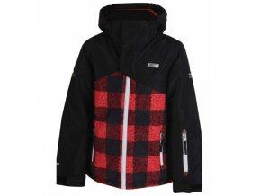 Chlapecká lyžařská bunda 2117 of Sweden STALON Black Print