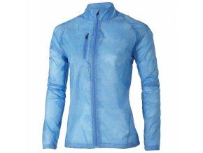 Dámská běžecká bunda  121650 Asics LIGHTWEIGHT Modrá