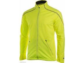 Męska kurtka softshell do biegania 124759 Asics Lite Show Winter Żółta