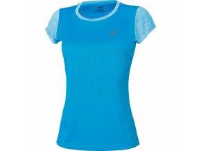 Dámské sportovní triko Asics 141255 FUZEX SS Top Modrá