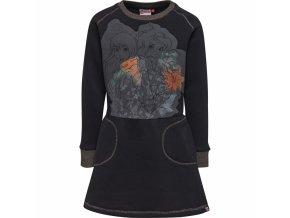 Sukienka dla dziewczynek LEGO® Wear DANICA 702 Czarna