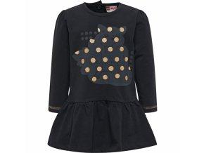 Dívčí šaty LEGO® Wear DIANA 701 Černá