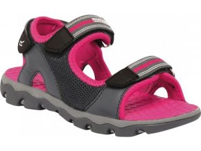 Dívčí sandály Regatta RKF409 TERRAROCK Iron/Jem