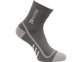 Dámské funkční ponožky Regatta RWH034 2SEASON TrekTrail Šedá
