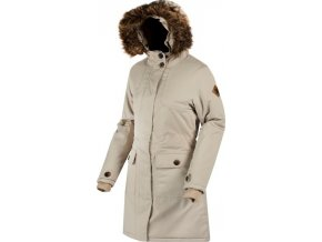 Dámský kabát Regatta RWP232 SAPHIE Warm Beige