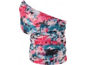 Multifunkční šátek Regatta RKC103 TUBA K PRINT růžová