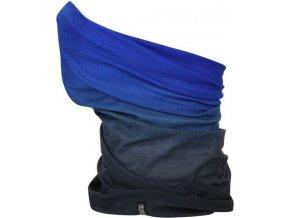 Multifunkční šátek Regatta RMC052 MULTITUBE Printed modrá