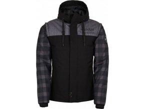 Pánská zimní bunda KILPI KIWI-M KIWI-M Černá