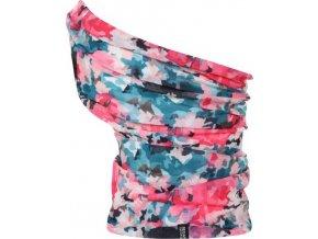 Multifunkční šátek Regatta RMC052 MULTITUBE Printed Růžová