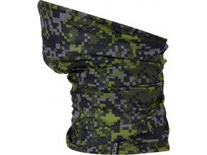 Multifunkční šátek Regatta RMC052 MULTITUBE Printed Černá