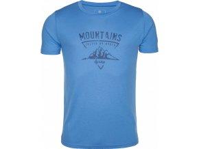 Pánské tričko KILPI GAROVE-M Modrá 18