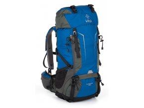 Dvoukomorový turistický batoh KILPI ELEVATION 45+5L Modrá 18