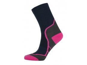 Univerzální outdoorové ponožky KILPI KARITO-U  Růžová 19