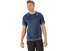 Pánské funkční triko REGATTA RMT164 Virda II modrá