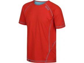 Pánské funkční triko REGATTA RMT164 Virda II červená