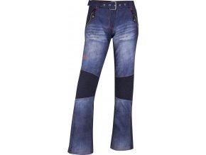 Damskie softshell spodnie KILPI JEANSO-W Niebieskie