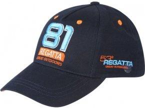 Kšiltovka Regatta RMC068 CRAYTON Tmavě modrá