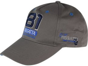 Kšiltovka Regatta RMC068 CRAYTON šedá