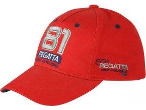Kšiltovka Regatta RMC068 CRAYTON  červená