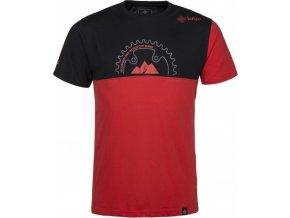 Pánské bavlněné tričko KILPI BIKEMAN-M  Červená