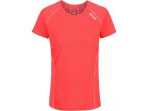 Dámské funkční tričko Regatta RWT153 VIRDA II Oranžová