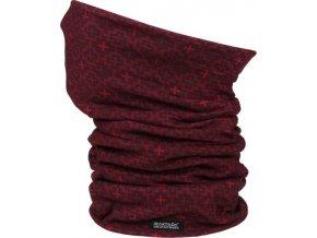 Multifunkční šátek Regatta RMC058 Adlts MultitubeII Vínová